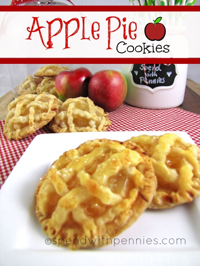 Apple pie cookies, Apple pies and Pies on Pinterest