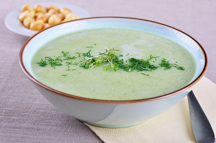 Zupa krem z zielonego ogórka