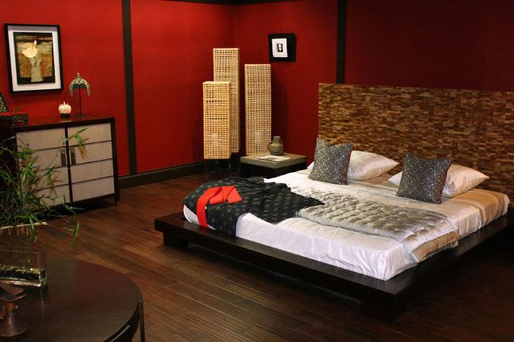 Camera da letto in stile zen n.17