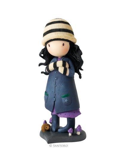 """Gorjuss 6"""" Figurine - Toadstools from Santoro"""
