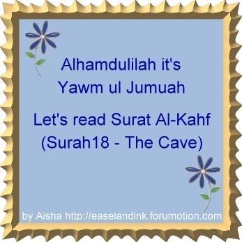 Virtues of reciting Surah al Kahf (TJMuslim)