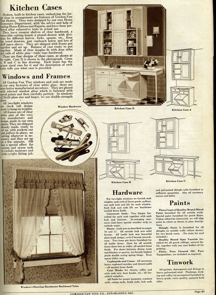Antique Kitchen Cabinets And Window Treatment