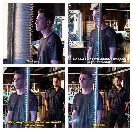 Arrow - Oliver and Roy #3.6 #Season3