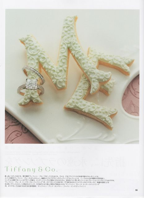 SPUR White Wedding Magazine - ME Cookies by rosey sugar, via Flickr