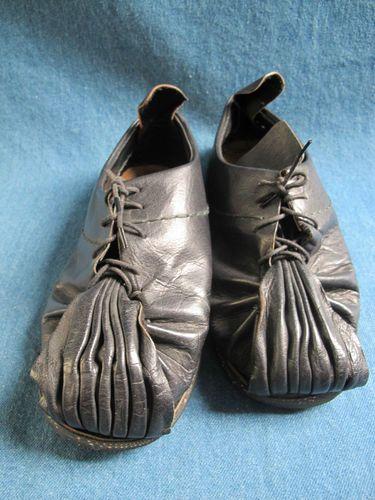 Vintage Yohji Yamamoto Black Leather Lace Up Shoes