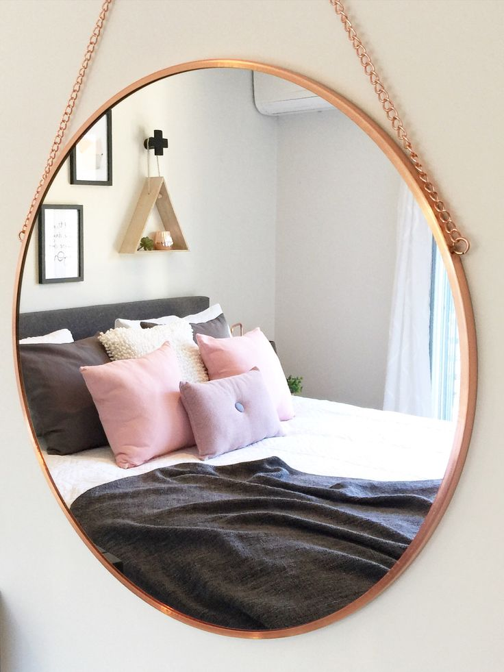 Kmart Copper mirror ❤️ bedroom style