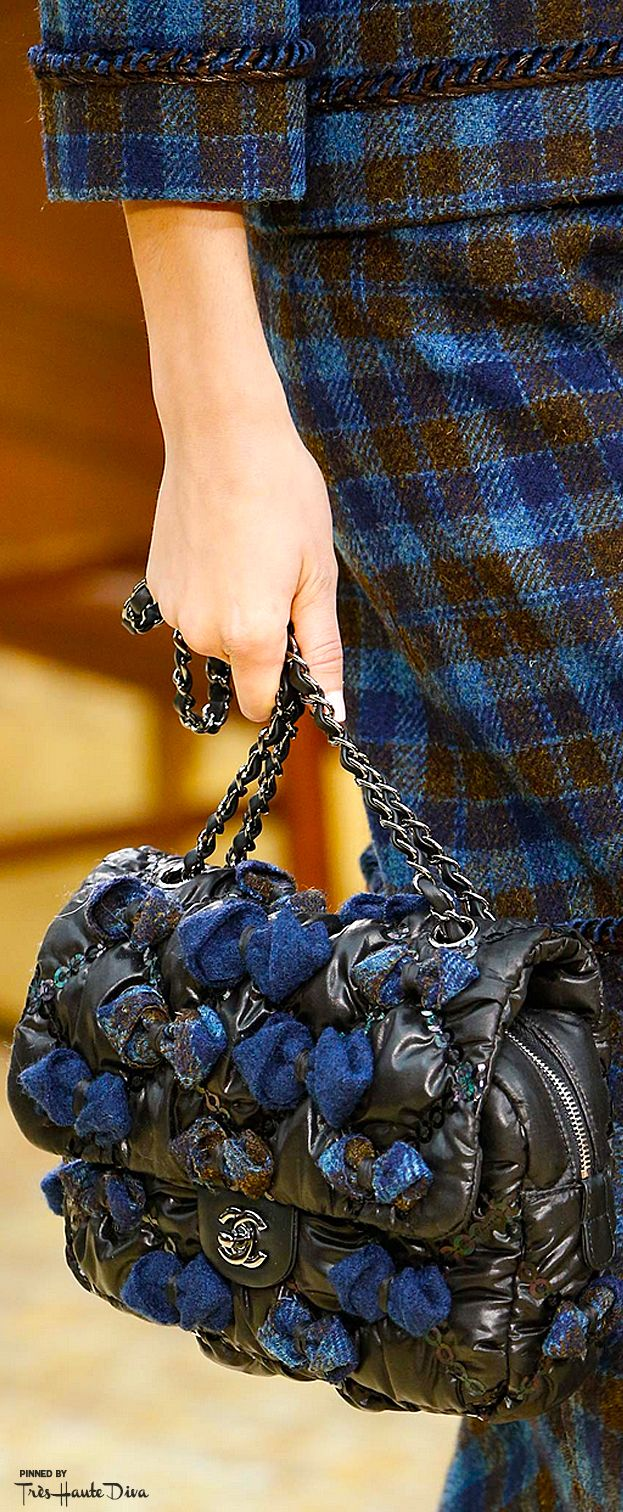 Chanel Fall 2015 RTW  ♔THD♔ detail