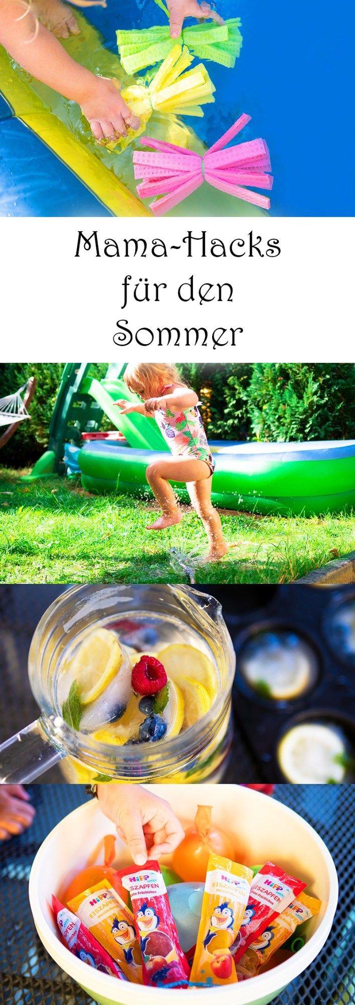 Coole Mama-Hacks für den Sommer