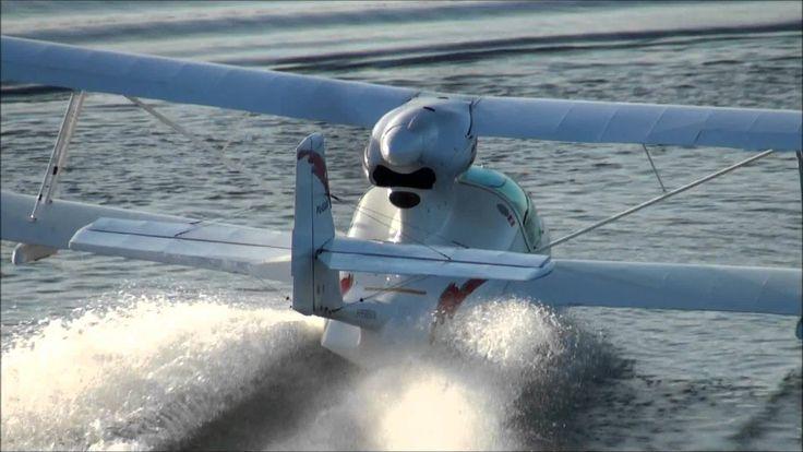 I Love this Airplane Amphibian Light Sport Aircraft Super Petrel https://youtu.be/QFoFde23WpE