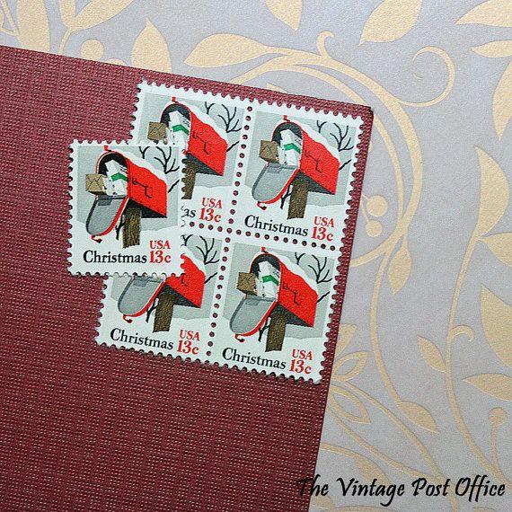 Ten 13c Rural Mailbox .. Vintage Unused US by TheVintagePostOffice