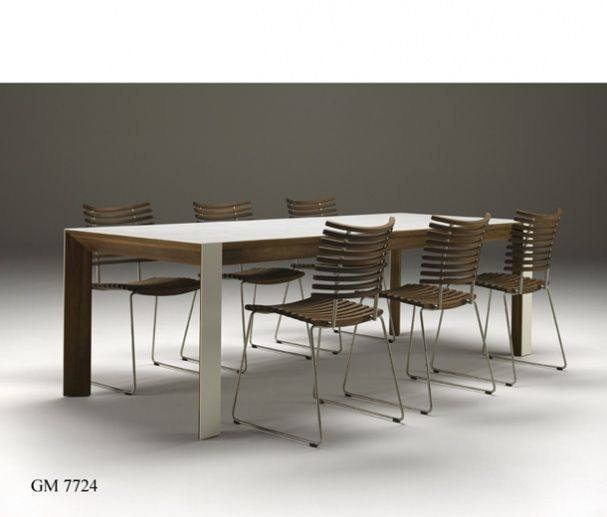 Nissen & Gehl, Naver Collection 7710 table, Leopard Chair