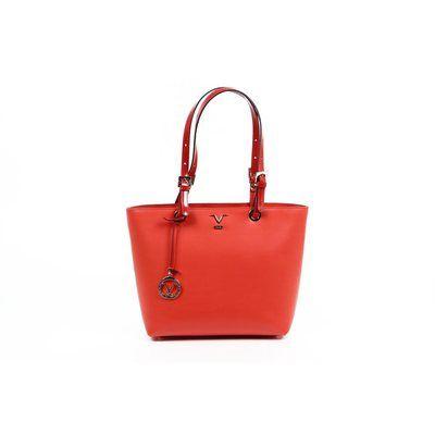 Versace 19.69 Abbigliamento Sportivo SRL Ladies Handbag E250/52 Ruga/Specchio Rosso/218