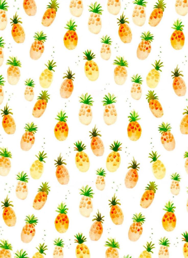 Pineapple pattern background - photo#12