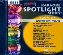 Sound Choice Spotlight Karaoke Country Hits Vol. 172  By [ Karaoke ] See Now: Ellen's Cassette and Video Corner From $14.99