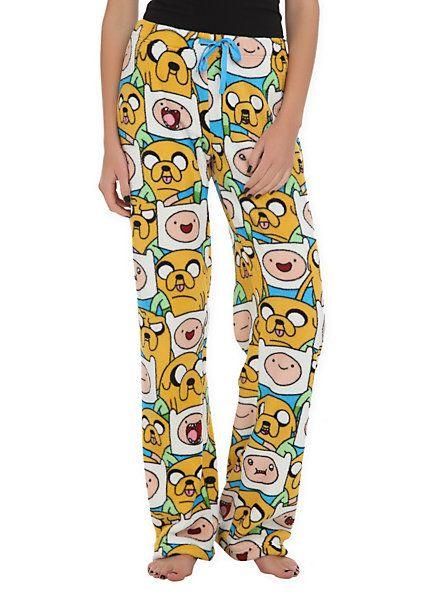 Adventure Time Finn & Jake Plush Lounge Pants | Hot Topic