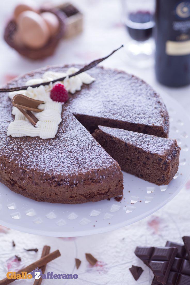La #torta al #vino #rosso inaugura l'autunno e il periodo della vendemmia! Un…