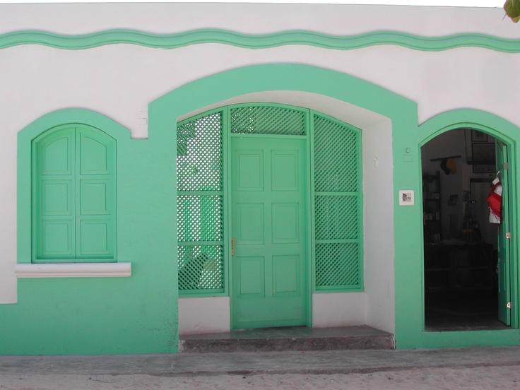 casa verde acqua, gran Roque, Venezuela