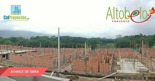 Así avanza el conjunto Altobelo en las manzanas E,F,G  #ALTOBELO #construyendotuvivir #construccion #tradicional