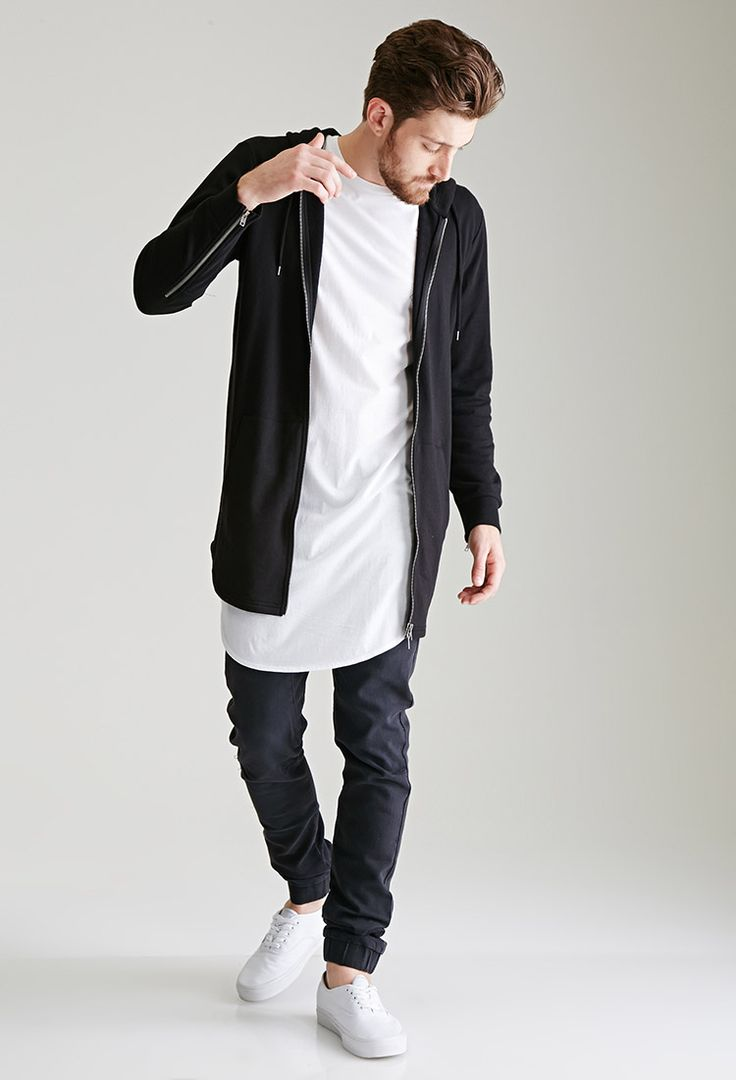 tendência camisa comprida oversized masculina homens que se cuidam 9