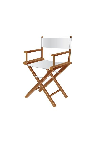 Director Chair Vector Image #hollywood #vector #movie #directorchair http://www.vectorvice.com/hollywood-vector-pack