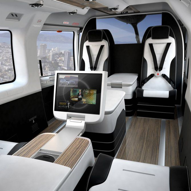 The Mercedes-Benz Style EC145 Luxury Helicopter