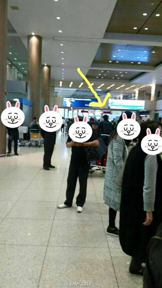 01042015 just came back from LA @Incheon Int'l Airport