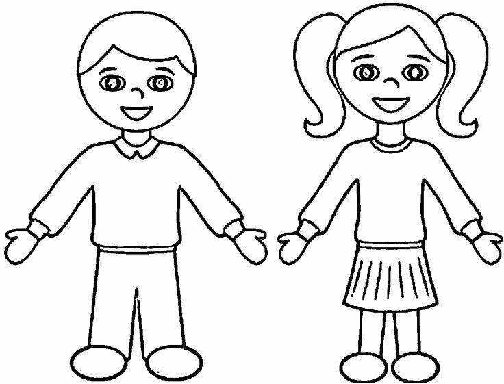 Boy And Girl Coloring Page Unique Incredible Design Ideas Coloring Pages  For Boys And Girls Coloring Pages For Boys, Boy Coloring, Coloring Pages  For Girls