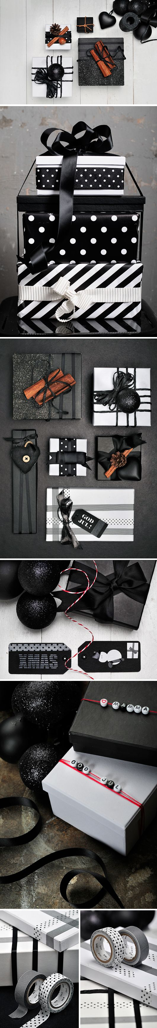 DIY Christmas Wrapping Ideas....
