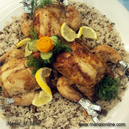 99 best arabic images on pinterest arabic food arabian food and arabic food recipes stuffed chicken recipe forumfinder Image collections