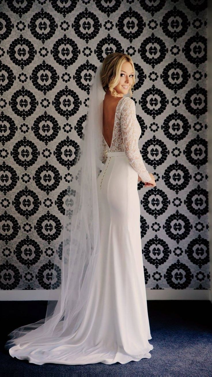 Elegant Wedding Dress Leave Out The Future Husband For The Moment