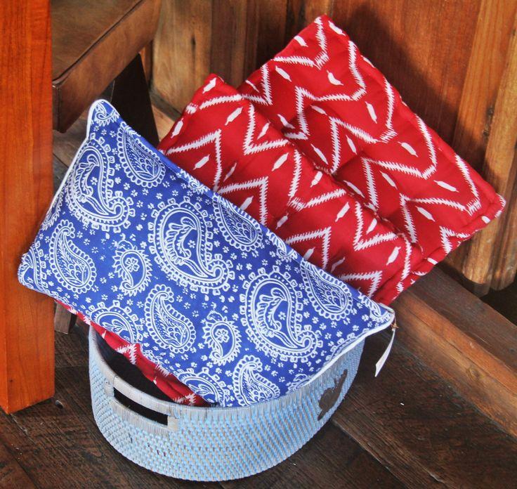 Batik Cushions.