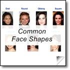Common Face Shapes - Styling Tips f& Fashion Advice or All Face Shapes