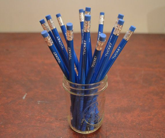Brighten your day with these personalized pencils and fancy up your desk. These personalized pencils also make a great gift for anyone. Personalized