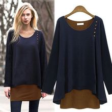 d95487t european women's clothing of spring tide long render unlined upper garment autumn clothing women long sleeve T-shirt best seller follow this link http://shopingayo.space