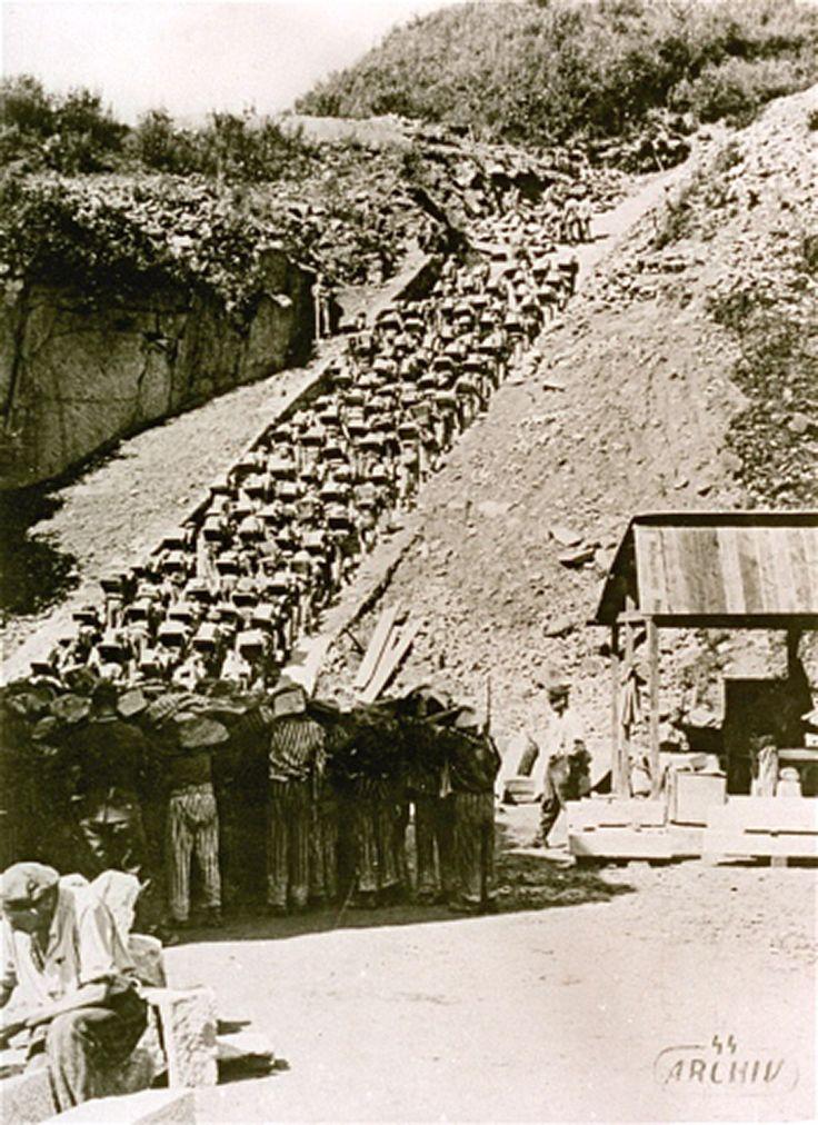 Granite Quarried In Mauthausen : Deportados german pinterest