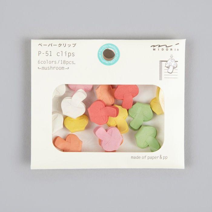 Midori mushroom clips