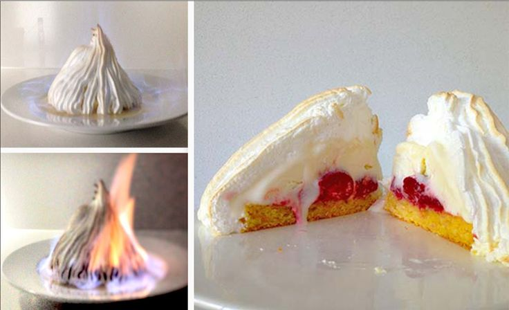 Flambe Bombe Alaska Dessert Recipe HOW TO COOK THAT Baked Alaska Recipe Ann Reardon