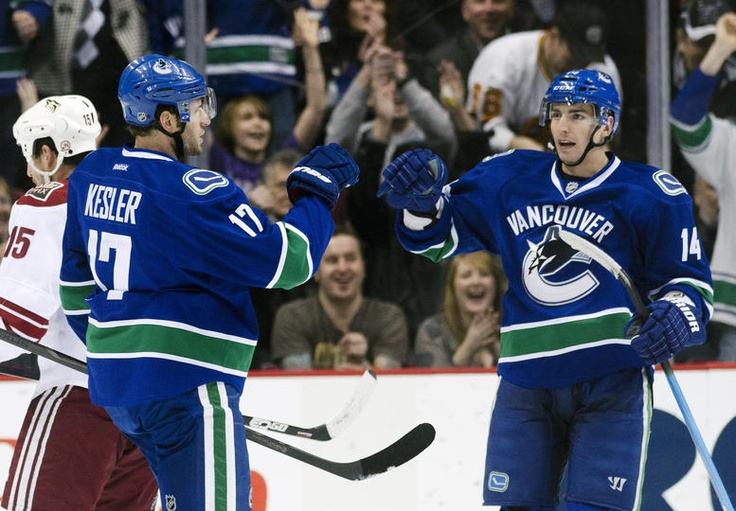 Ryan Kesler & Alex Burrows