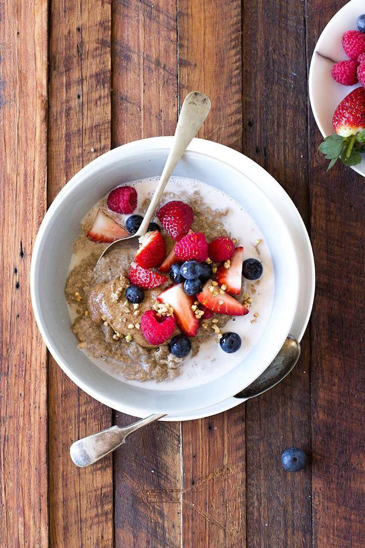 protein boosted quinoa vanilla porridge| jessica cox