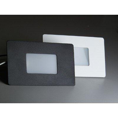 Kit Com 6 Balizador Led Embutir Parede Escada C/ Lâmpada 4x2 - R$ 299,00 em Mercado Livre