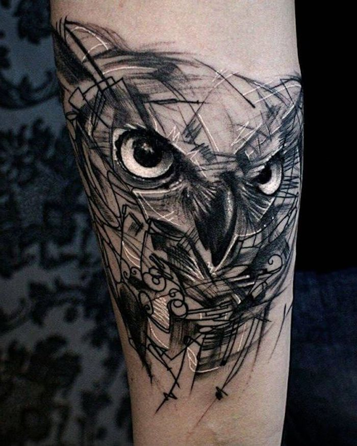 ▷ 47 + inspiring ideas and pictures about Owl Tattoo!   – Tattoos