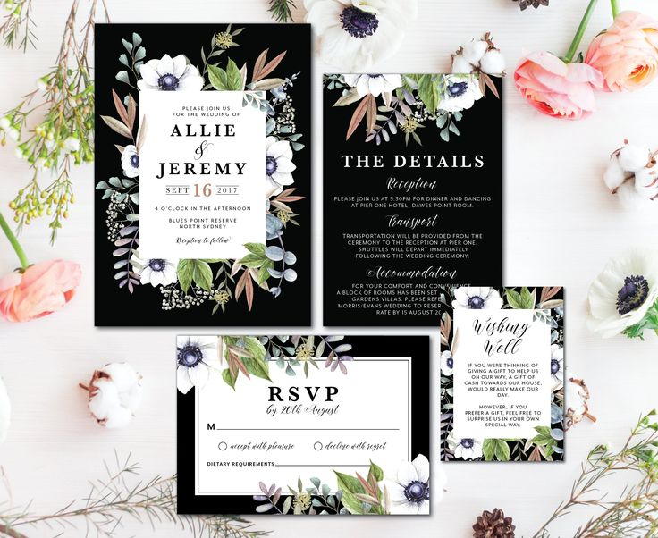 50 best Printed Wedding Invitations
