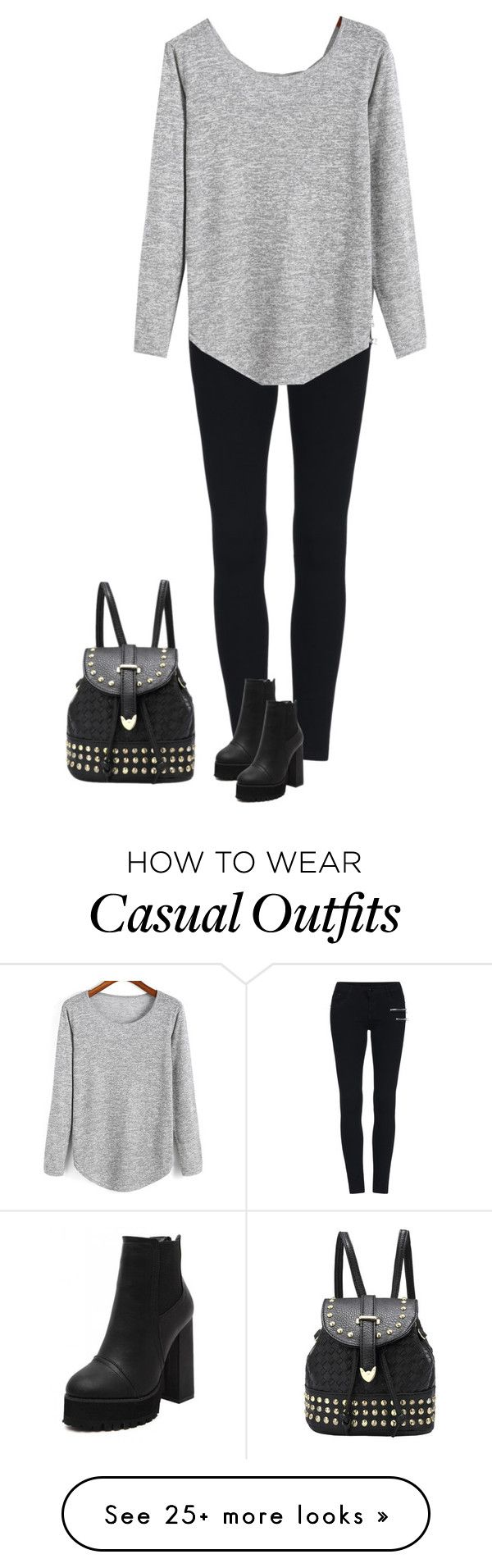 """""""Casual"""" by the-sickest666 on Polyvore featuring women's clothing, women's fashion, women, female, woman, misses and juniors"""