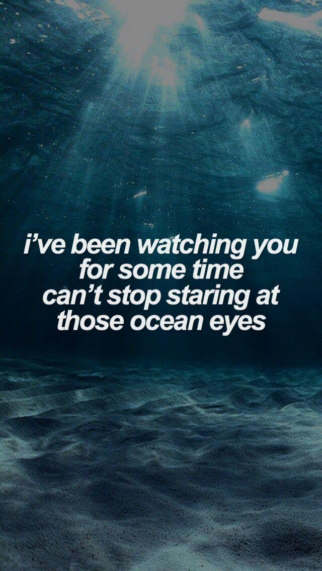 Ocean Eyes Billie Eilish Wallpaper Goruntuler Ile Sarki Sozu