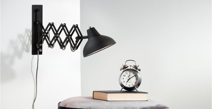Frosini Wandlampe in Schwarz | made.com