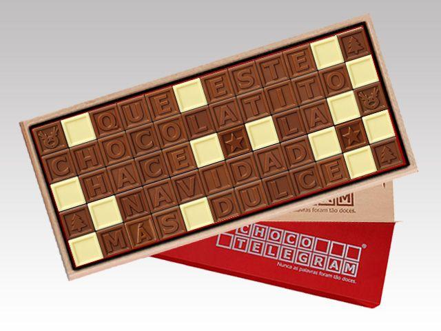 ¿Has visto nuestros Chocotelegram? ¡Son el mensaje perfecta para aquellos que no pueden estar en la noche de Navidad! http://www.mysweets4u.com/es/?o=2,5,29,35,0,0