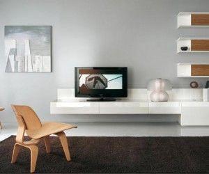 White Tv Wall Mount