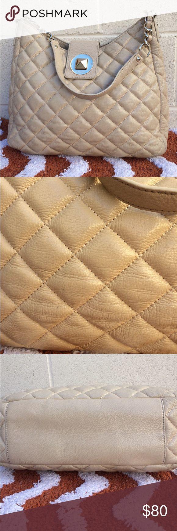 Tendance salopette 2017  Kate Spade Gold Coast quilted Janica handbag Genuine leather handbag. please che