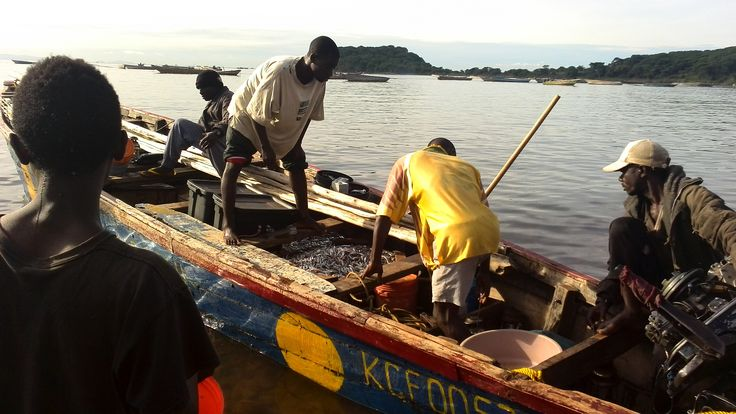 Fishers around Lake Victoria