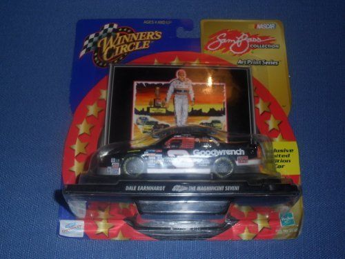 2000 NASCAR Winner's Circle . . . Dale Earnhardt #3 GM Goodwrench 1/43 Diecast . . . Sam Bass Collection . . . The Magnificient Seven . . . Includes Collector's Stand by NASCAR. $3.49